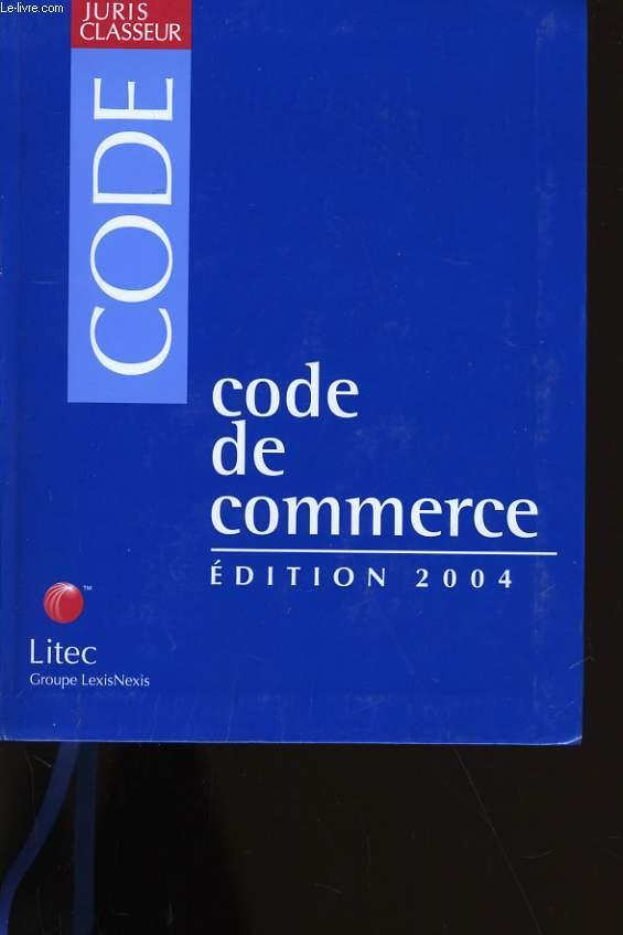 CODE DE COMMERCE.