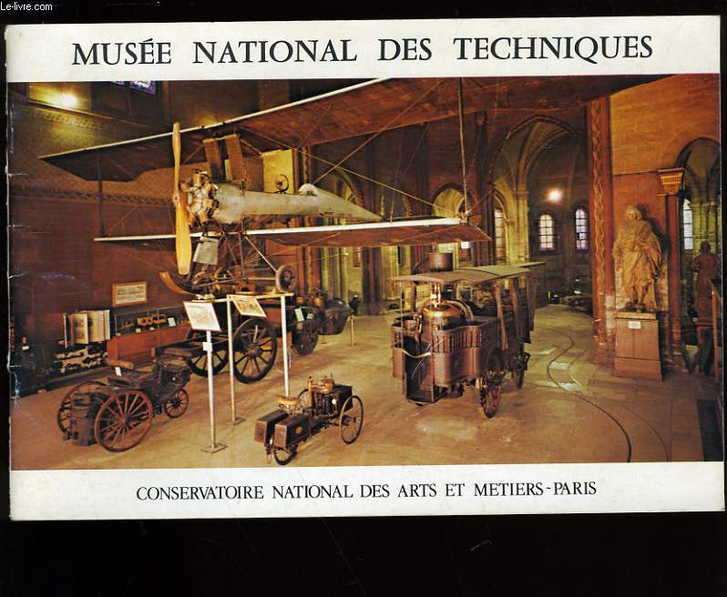 MUSEE NATIONAL DES TECHNIQUES.