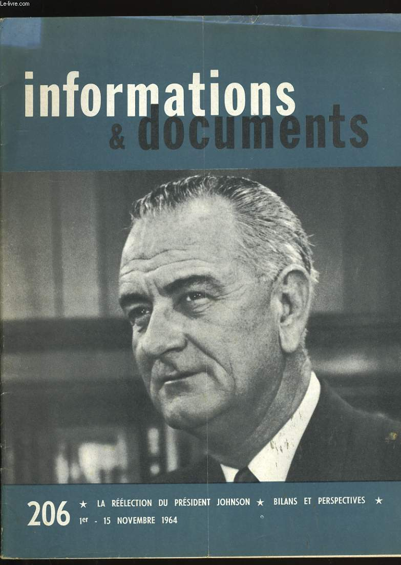 INFORMATIONS ET DOCUMENTS N°  206.