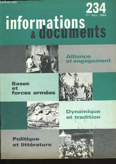 INFORMATIONS ET DOCUMENTS N°  234.