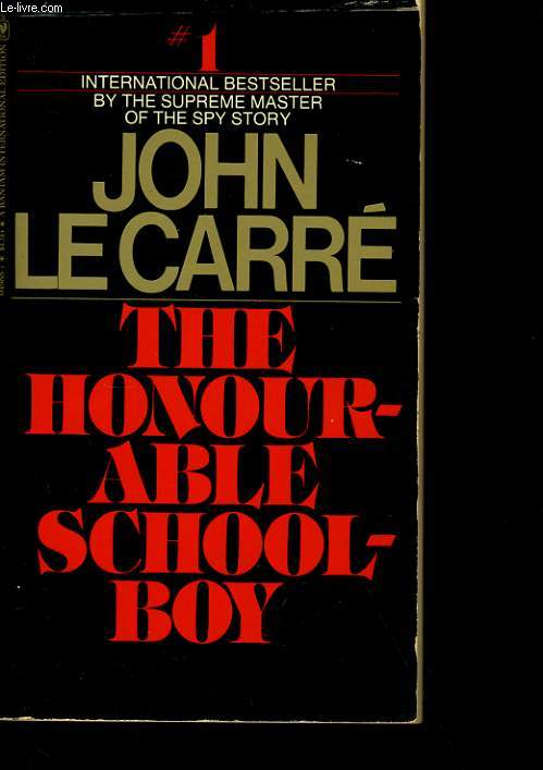 THE HONOURABLE SCHOOLBOY.