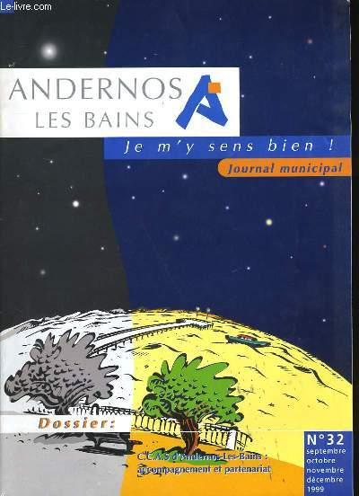 ANDERNOS LES BAINS. JOURNAL MUNICIPAL N° 32.