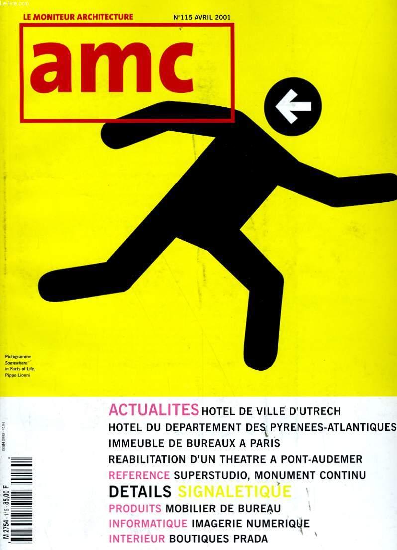AMC. LE MONITEUR ARCHITECTURE N° 114.