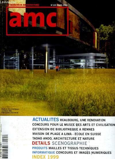 AMC. LE MONITEUR ARCHITECTURE N° 105.