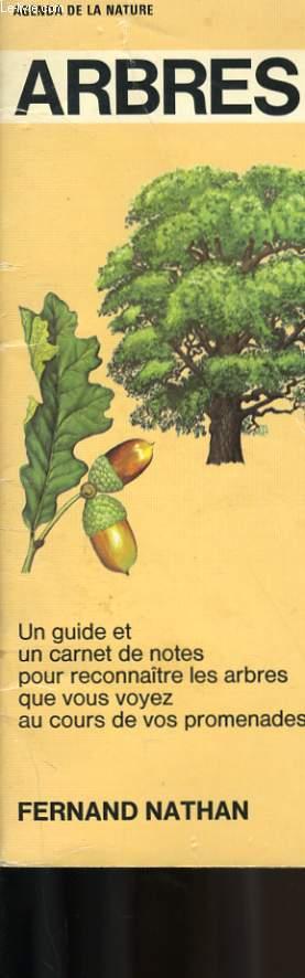 AGENDA DE LA NATURE. ARBRES.