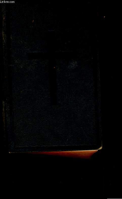 LE NOUVEAU TESTAMENT DE NOTRE SEIGNEUR JESUS CHRIST.