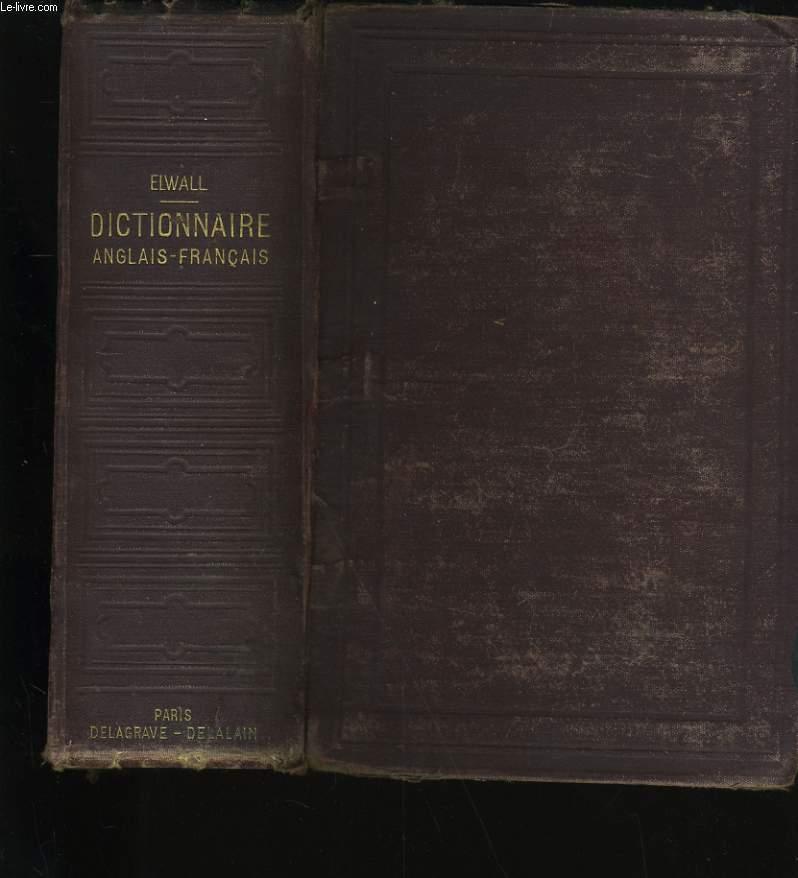 DICTIONNAIRE ANGLAIS-FRANCAIS.