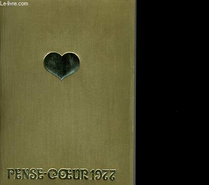PENSE COEUR 1977. CALENDRIER.