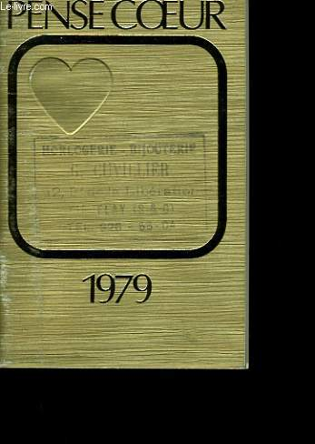 PENSE COEUR 1979. CALENDRIER.