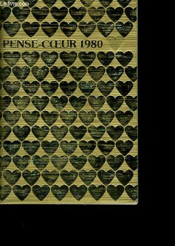 PENSE COEUR 1980. CALENDRIER.