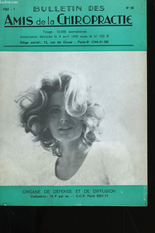 BULLETIN DES AMIS DE LA CHIROPRACTIE N° 48.