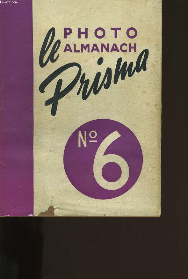 PHOTO ALMANACH PRISMA N° 6.