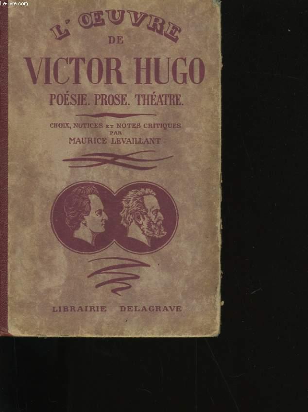 L'OEUVRE DE VICTOR HUGO.