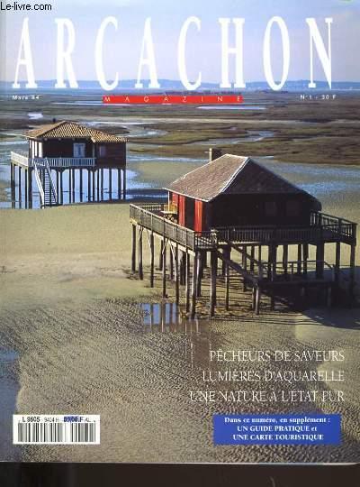 ARCACHON MAGAZINE N° 1.