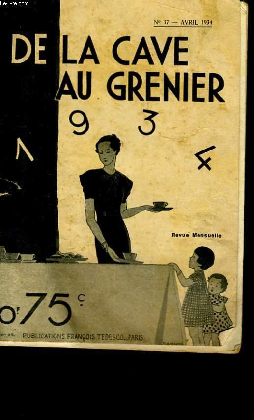 DE LA CAVE AU GRENIER N° 37