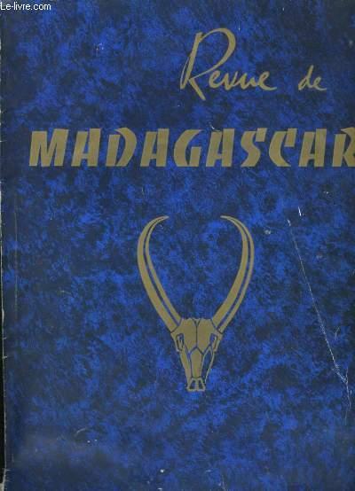 REVUE DE MADAGASCAR N° 12.