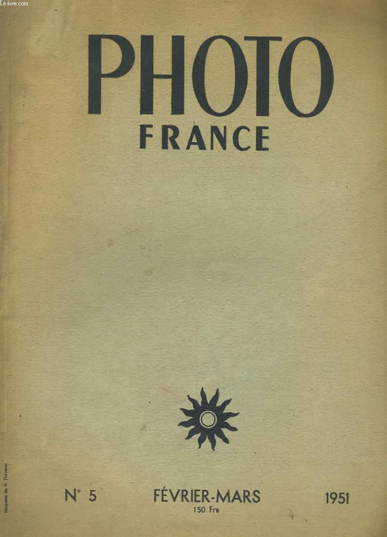 PHOTO FRANCE N° 5.