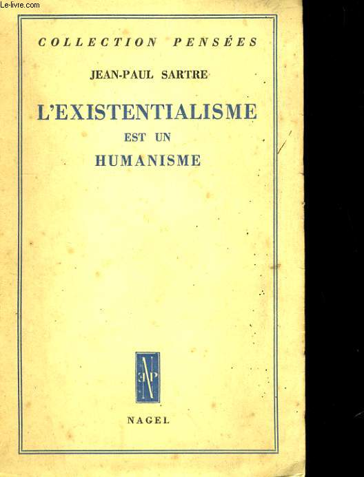 sartre essay on humanism Existentialism and humanism was the title used in the sartre himself later rejected some of the views he expressed in it and an essay on phenomenological.