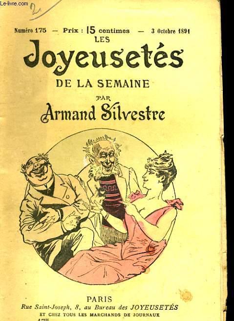 JOYEUSETES DE LA SEMAINE N°175