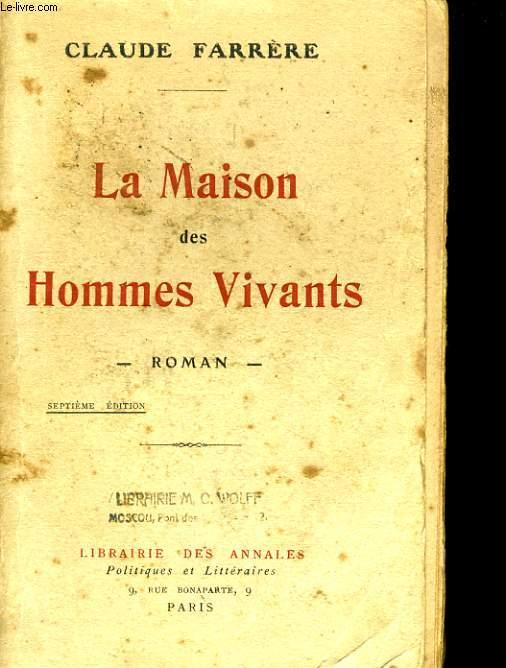 LA MAISON DES HOMMES VIVANTS 7EME EDITION