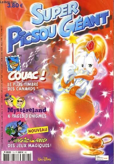 SUPER PISCOU GEANT N°110