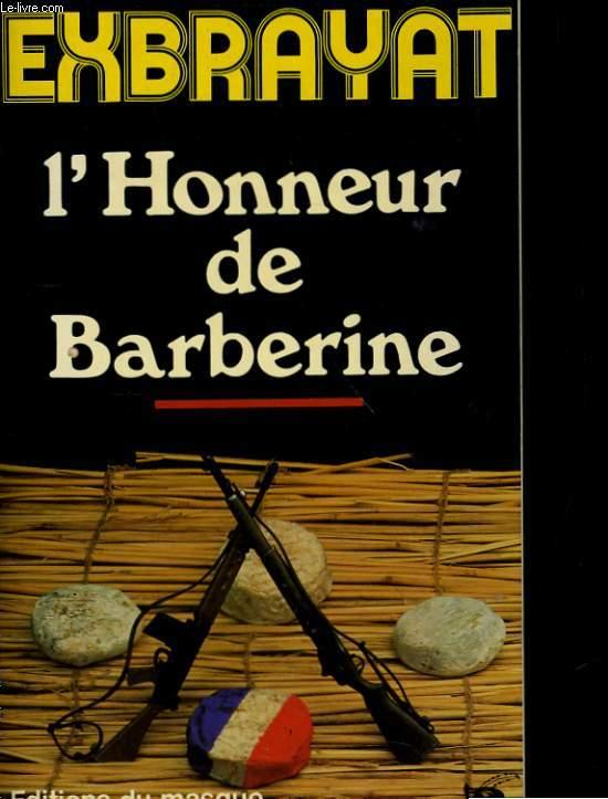 L'HONNEUR DE BARBERIE