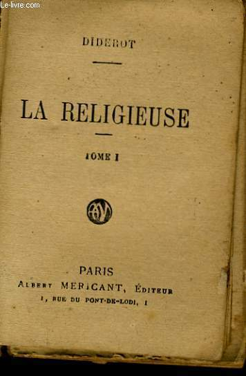 LA RELIGIEUSE TOME 1