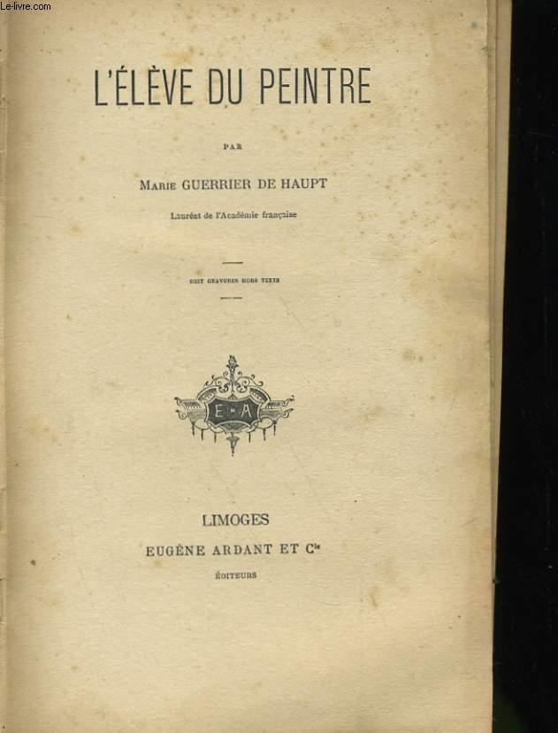 L'ELEVE DU PEINTRE