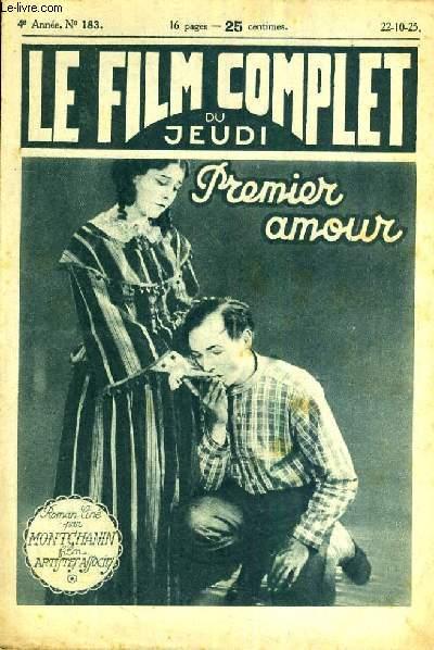 LE FILM COMPLET DU JEUDI N° 183. PREMIER AMOUR