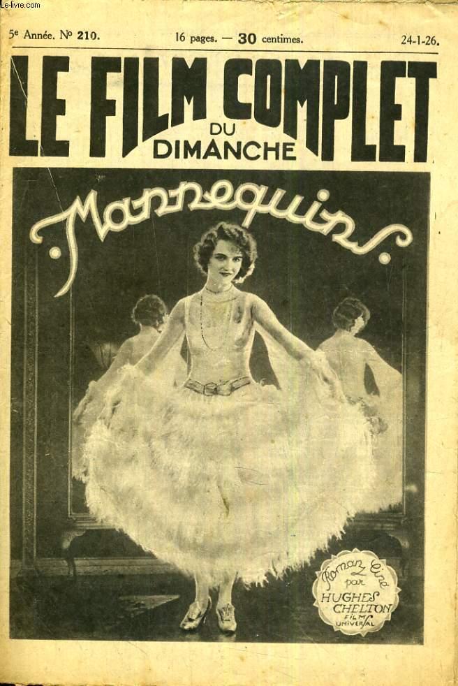 LE FILM COMPLET N° 210. MANNEQUIN