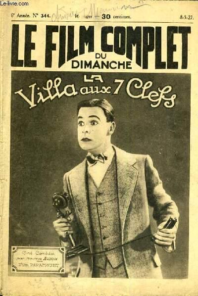 LE FILM COMPLET DU DIMANCHE N° 344. LA VILLA AUX 7 CLEFS