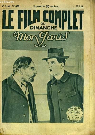 LE FILM COMPLET DU DIMANCHE N° 455 - 7E ANNEE - MON PARIS