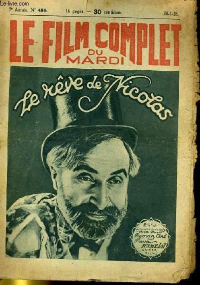 LE FILM COMPLET DU MARDI N° 556 - 7E ANNEE - LE REVE DE NICOLAS