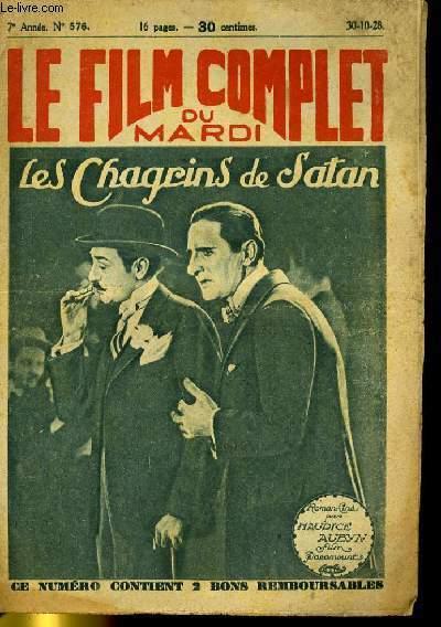 LE FILM COMPLET DU MARDI N° 576 - 7E ANNEE - LES CHAGRINS DE SATAN