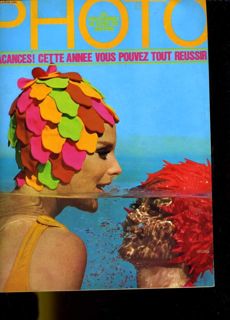 PHOTO N° 10 - VACANCES! CETTE ANNEE VOUS POUVEZ TOUT REUSSIR - ORSON WELLES - JEAN-LOUP SIEFF - TABLEAU DES MAGNETOPHONES D'AUTOMOBILE...