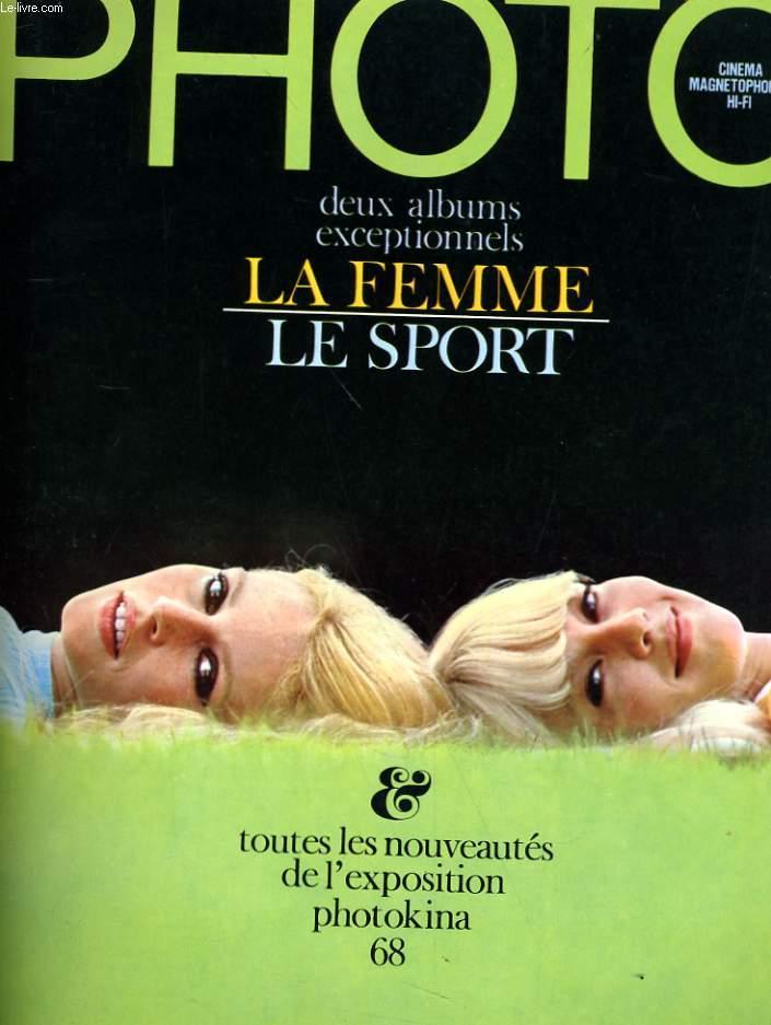PHOTO N° 13 - DEUX ALBUMS EXCEPTIONNELS - LA FEMME - LE SPORT - TOUTES LES NOUVEAUTES DE L'EXPOSITION PHOTOKINA 68