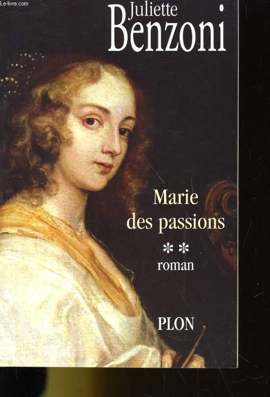 MARIE DES PASSIONS 2. ROMAN