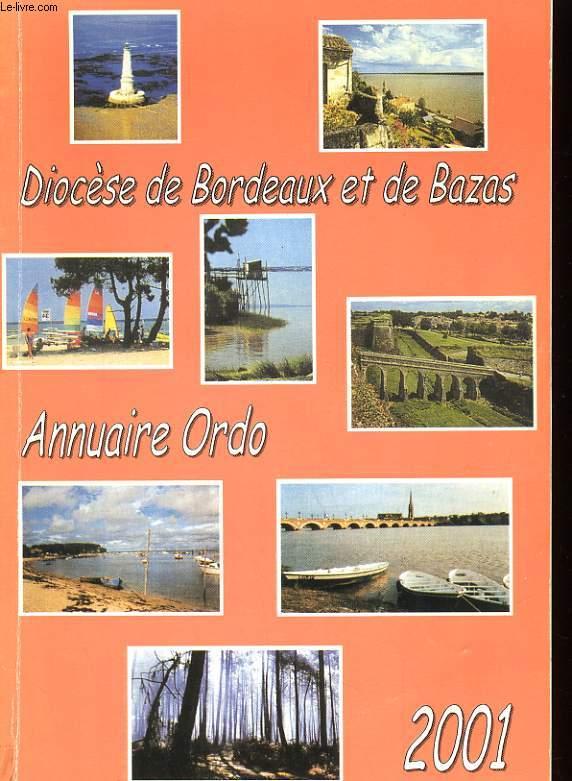 ORDO 2001 - ANNUAIRE REPERTOIRE