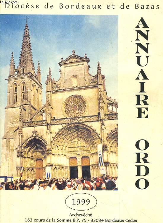 ORDO 1999 - ANNUAIRE REPERTOIRE