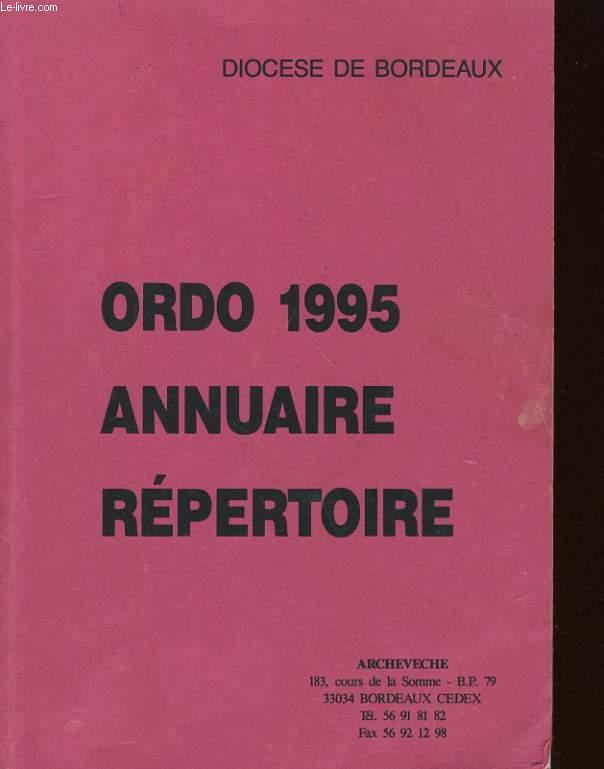 ORDO 2005 - ANNUAIRE REPERTOIRE