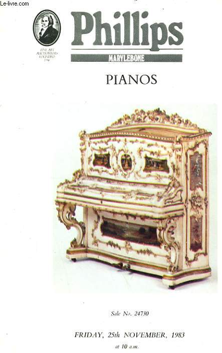 PIANOS - FRIDAY 25th NOVEMBER 1983