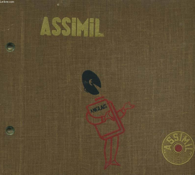 ASSIMIL - 11 DISQUES 33 TOURS - ENGLISH WITHOUT TOIL