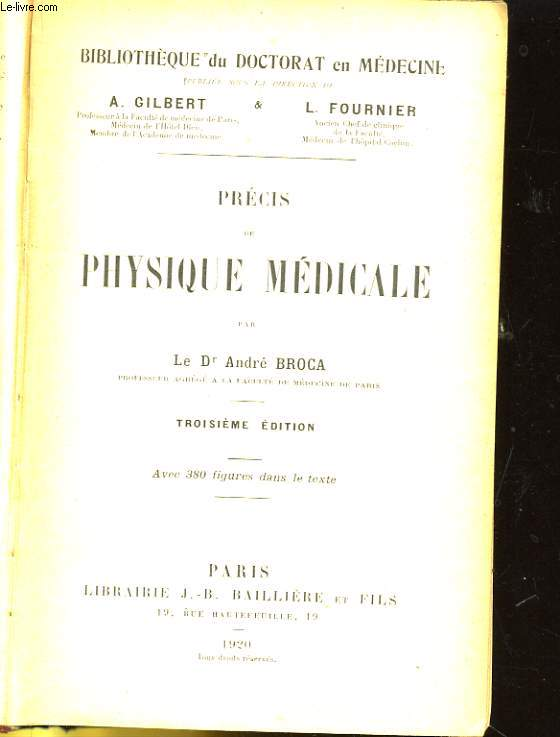 PHYSIQUE MEDICALE