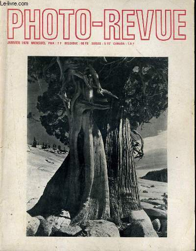 PHOTO REVUE - EDWARD WESTON - L'AVENTURE DU CINEMA INSTANTANE...