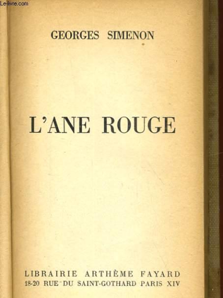 L'ANE ROUGE