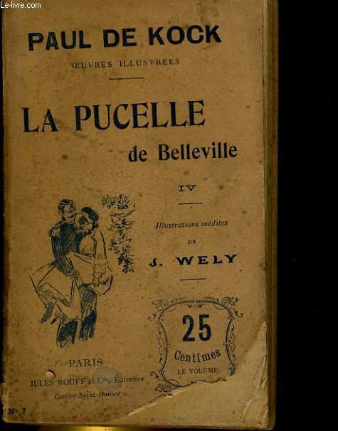 LA PUCELLE DE BELLEVILLE IV - N°7