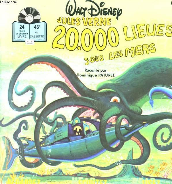 JULES VERNE, 20.000 LIEUES SOUS LES MERS.