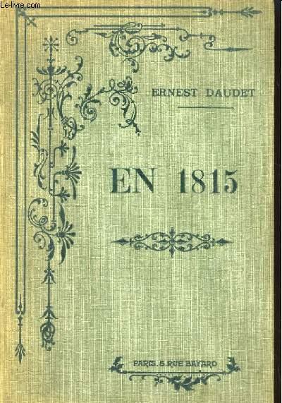 EN 1815. RECITS D'UNE GRAND'MERE