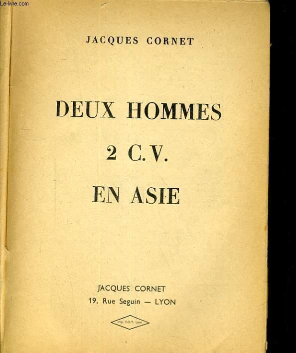 DEUX HOMME 2 C. V. EN ASIE