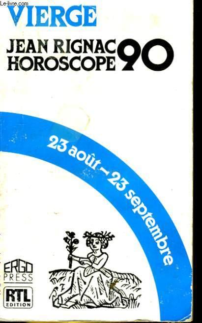 HOROSCOPE 1990. VIERGE